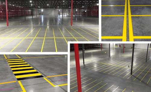 Warehouse Floor Label Kits: Imprint Enterprises