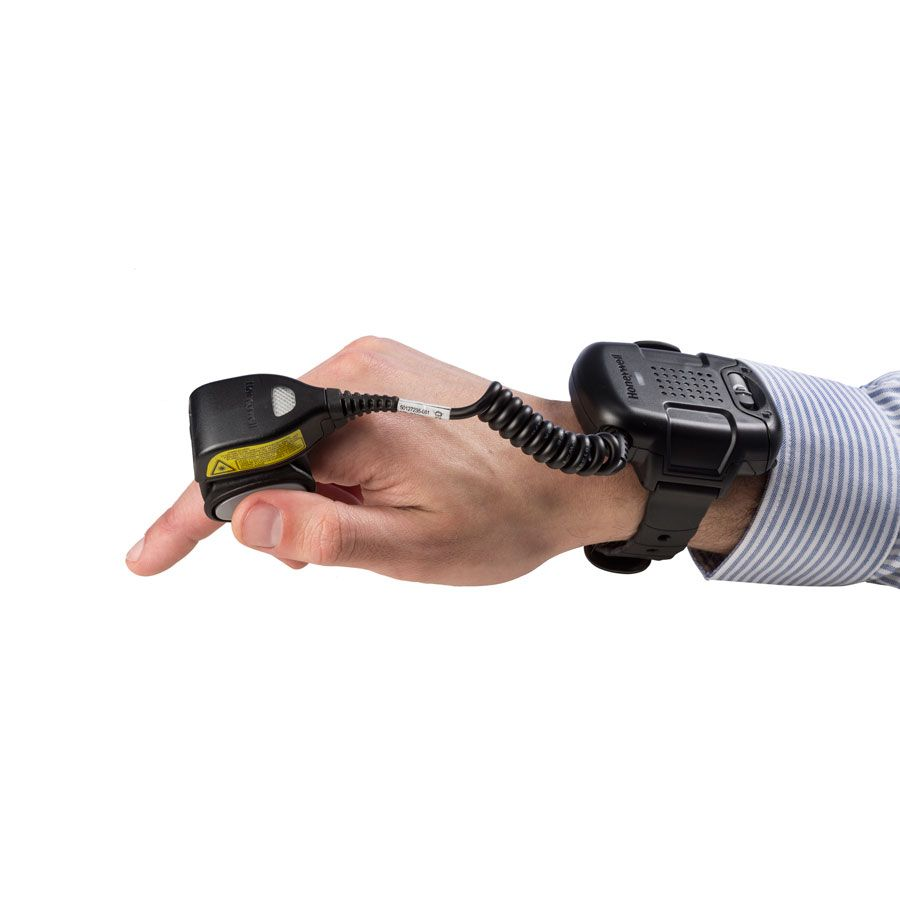 wearable scanner on hand