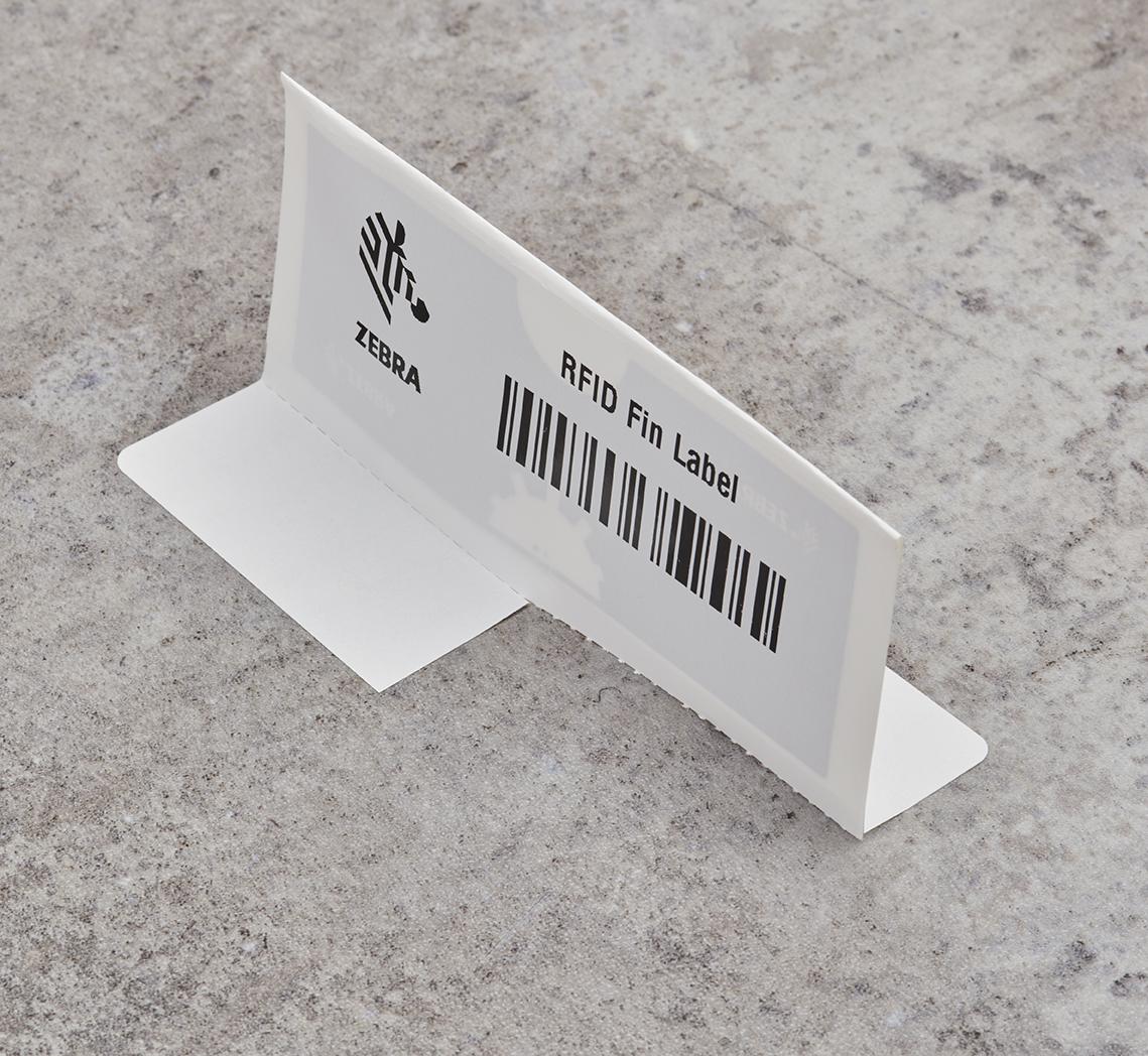 Man using an RFID scanner